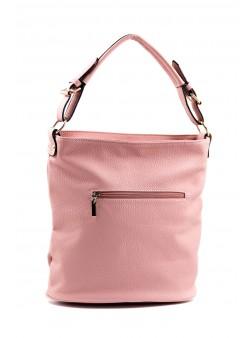 Geanta shopper roz pudra