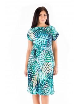 Rochie multicoloră de vacanță