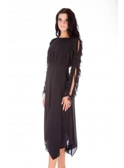 Rochie neagră de seară
