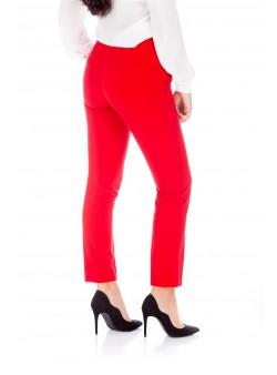 Pantalon skinny roșu