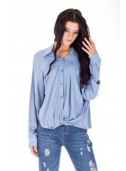 Bluză bleu lejeră