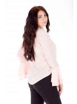 Bluză somon elegantă