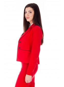 Jachetă roșie office
