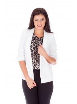 Jachetă albă office