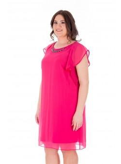 Rochie roz de petrecere