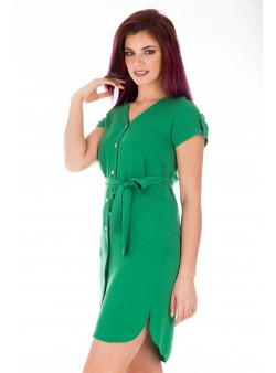 Rochie verde de zi lejera