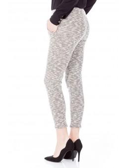 Pantaloni cu banda elastica in talie