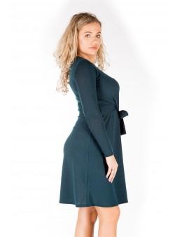 Rochie din tricot monocromatic