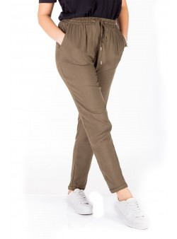Pantaloni casual din vascoza