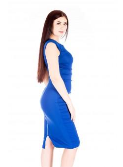 Rochie bodycon albastru electric