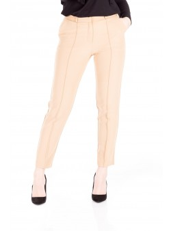 Pantalon conic bej