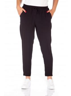 Pantaloni uni din viscoza