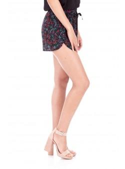 Pantaloni scurti cu model floral