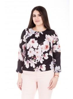 Bluza cu model floral