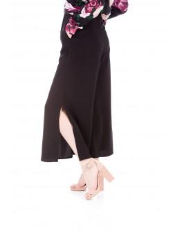 Pantaloni negri stil Marlene