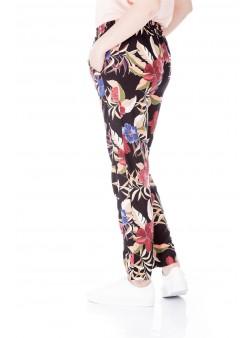 Pantaloni vascoza cu talia inalta