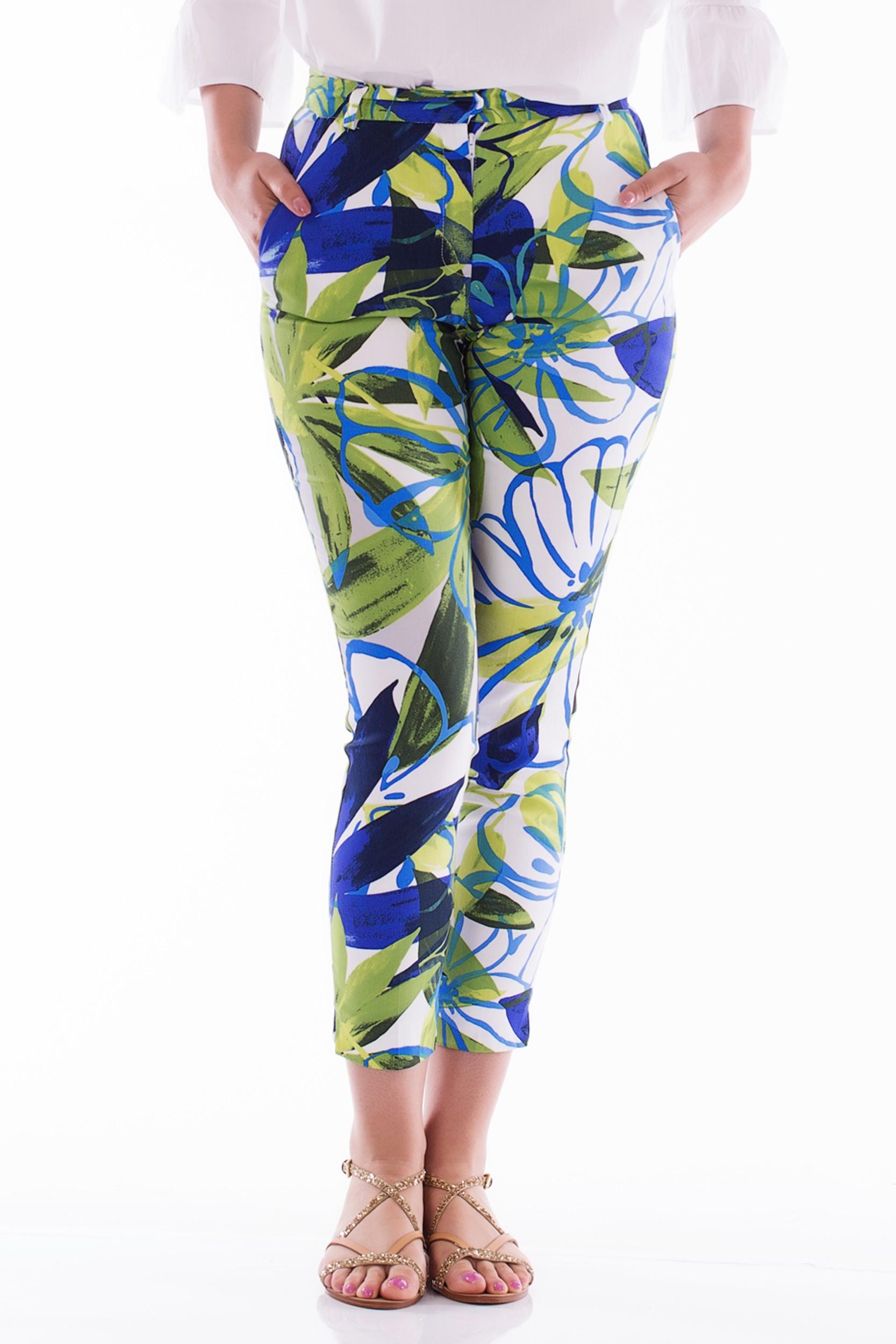 Pantaloni cu imprimeu vesel
