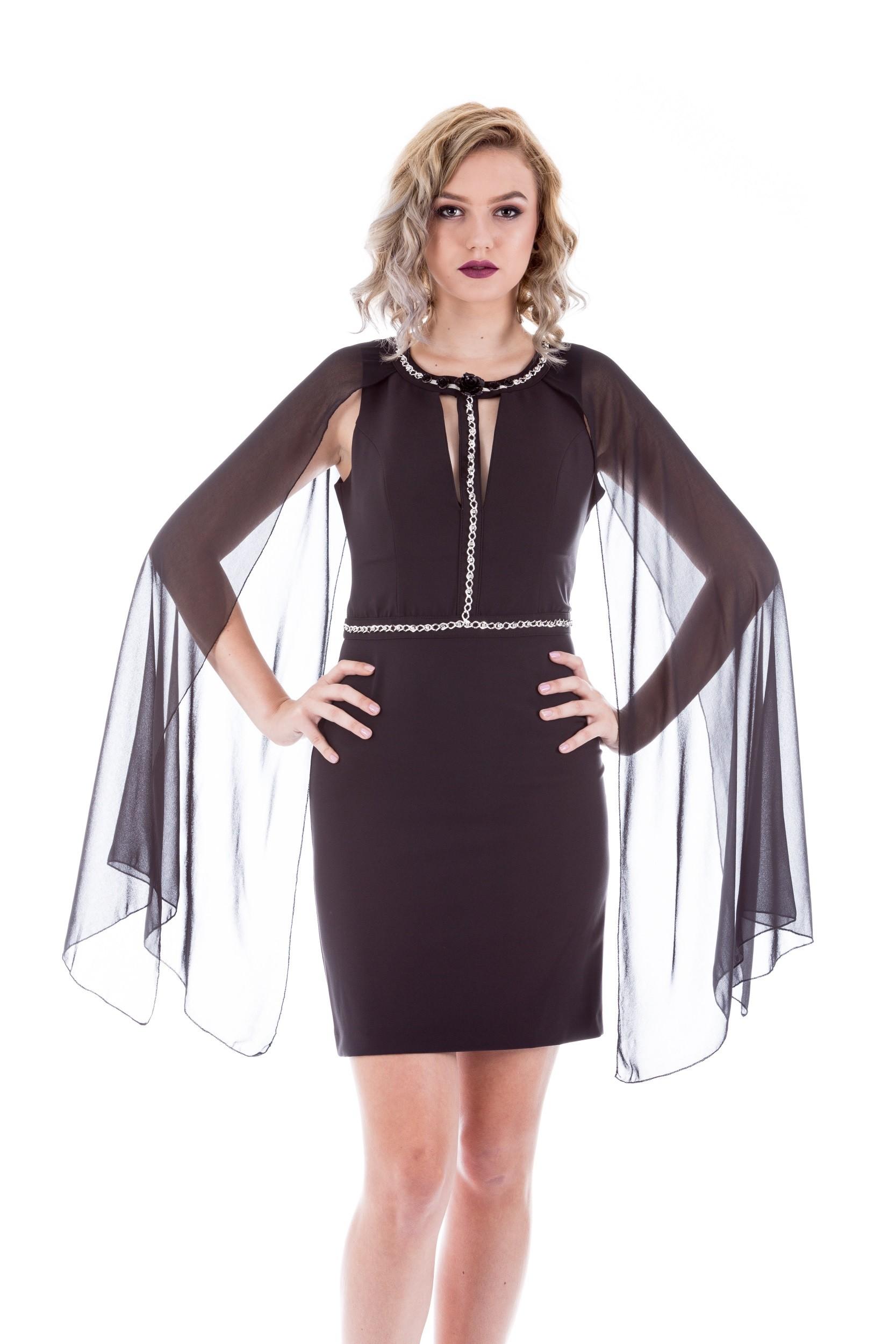 Rochie mini cu accesorii