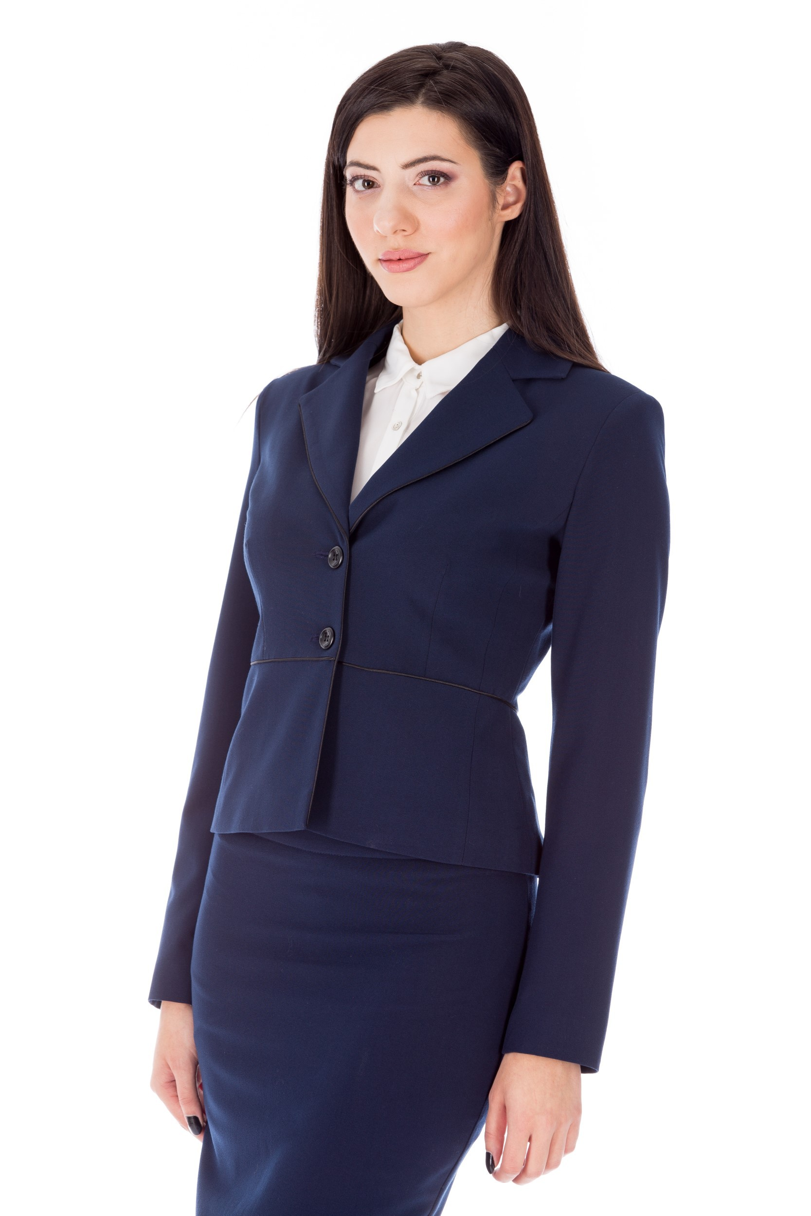 Jachetă bleumarin office