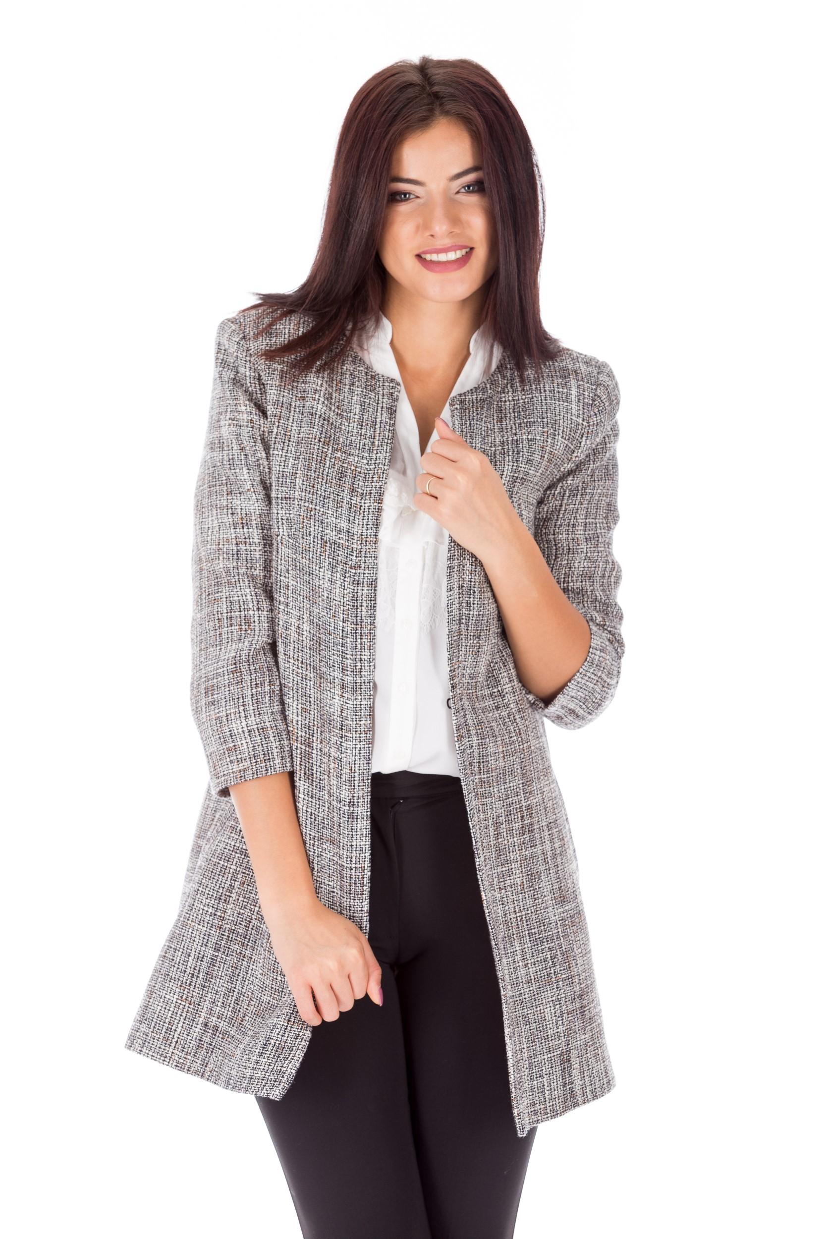 Jachetă gri office