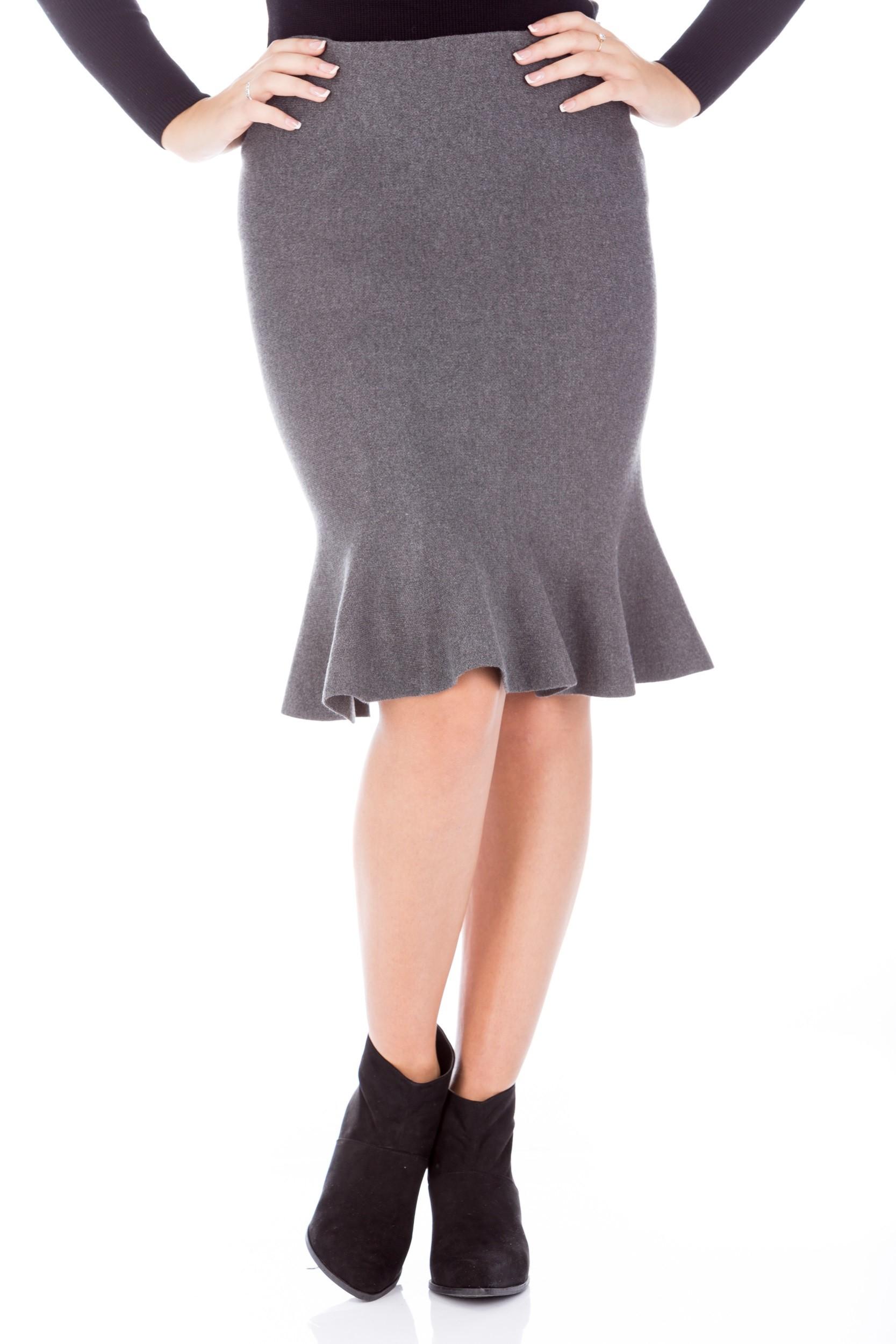 Fusta din tricot