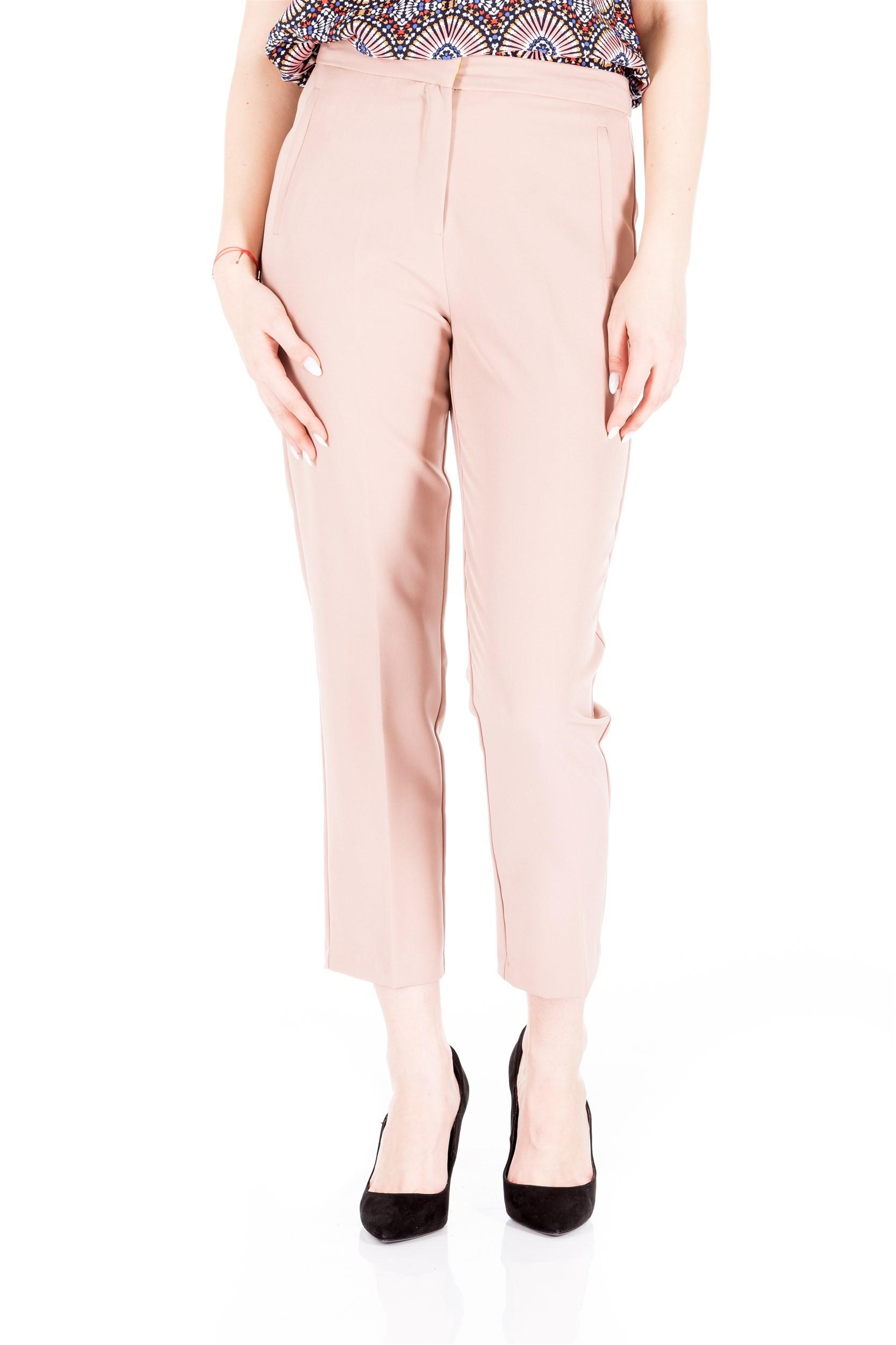 Pantalon cu buzunare verticale